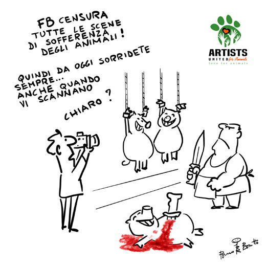 Bruno Bozzetto-ARTISTS UNITED FOR ANIMALS
