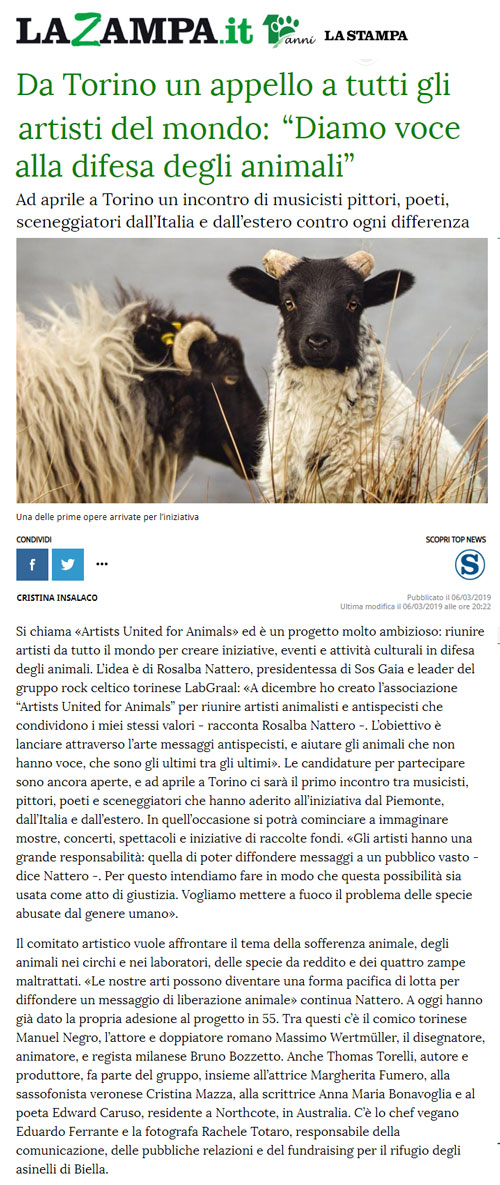 la-zampa-6-marzo-2019-artists-united-for-animals